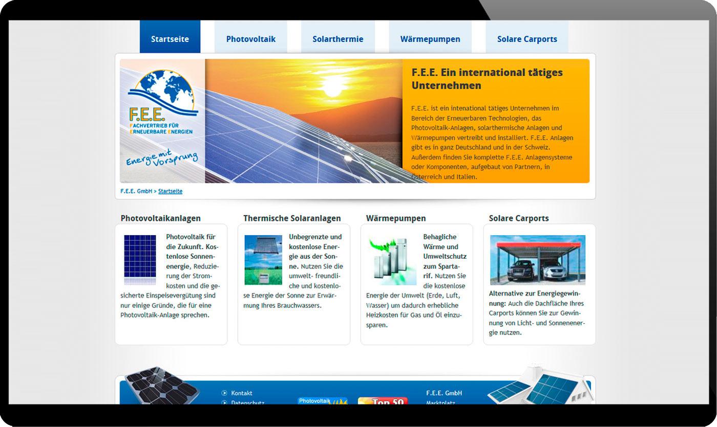 2c6319b5522bc2 Neuaufbau der Website als Content-Management-System
